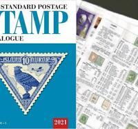 Ireland Eire 2021 Scott Catalogue Pages 555-604
