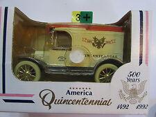 1991 ERTL AMERICA QUINCENTENNIAL 500 YEARS -   1913 FORD REPLICA