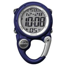 Digiclip Mini Digital Nurse Watch Light-Up Blue Carabiner Dakota 30963