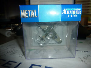 ARMOUR COLLECTION Bf-109 Luftwaffe 2 Ww Aces Bnib Metal 1:100  MINT BOXED