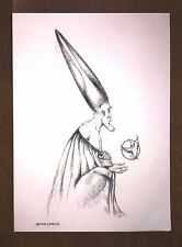 RAFAEL CORONEL ORIGINAL CHARCOAL ON THICK PAPER SIGNED DRAWING