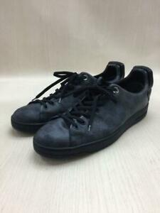 LOUIS VUITTON Us8 Nvy Leather Tag size US8 Navy Low cut sneaker 4707 From Japan