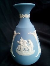 Vintage Wedgwood Blue Jasper Vase.