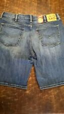 Levi's 541 Denim Shorts.    Athletic Fit      New with tags. Distressed   Save!