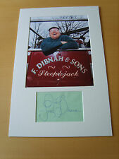 Fred Dibnah Genuine Autograph - UACC / AFTAL.