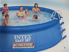 Intex Schwimmbecken Easy Pool Set 457 x 107 cm Quick Up Bestway