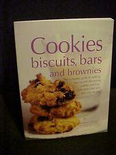 Cookies, Biscuits, Bars and Brownies Cookbook
