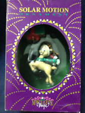 SOLAR MOTION ORNAMENT - REINDEER - NEW IN BOX - FREE SHIPPING