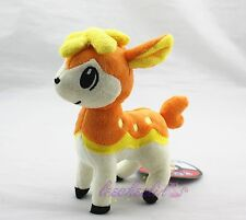 "7"" Nintendo Pokemon Pokedoll Deerling シキジカ Shikijika Autumn Orange Plush Doll"