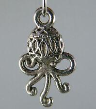 20pcs Tibetan Silver Double Octopus Charms 19x11x2.5mm L148-zn61425