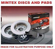 FOR ALFA ROMEO 156 1997-2000 1.6 TS FRONT MINTEX BRAKE DISCS SET+ DISC PADS KIT