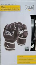 Everlast Mixed Martial Arts Grappling Gloves Black Size S/M - C26