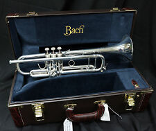 New Demo Bach Stradivarius 180S37 Bb Trumpet (PRO HORN) perfect in every way
