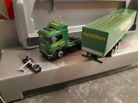 Scania 144  Fattorini Autotrasporti Sagl 6883 Novazzano  - Schweiz     Exclusiv
