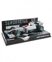 New Minichamps 1/43 Mercedes GP Showcar 2010 'Comeback' M.Schumacher Japan