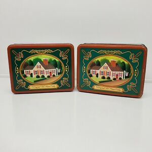 2 TOLL HOUSE COOKIE Collectible Tins (ew)