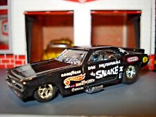 "1970's CHAMPION BLACK PLYMOUTH CUDA DON PRUDHOMME ""SNAKE"" LIMITED EDITION 1/64"