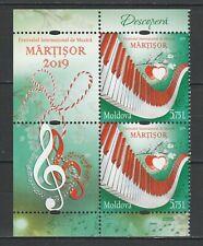 Moldova 2019 Music Festival Martisor 2 MNH stamps