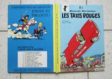 benoit brisefer les taxis rouges EO 1962 TBE dos refait