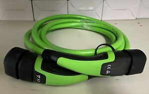 3 Phase Type 2 to Type 2 32A/400V Electric Vehicle Charging Cable 5 Metre