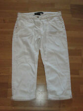 next crop cream jeans size 12 leg 22 brand new with tags