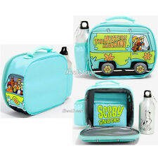 WB 3D Scooby Doo Van Insulated School Lunch Box Bag Water Bottle & Snack Pack