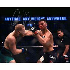 """CONOR McGREGOR Autographed UFC 16"""" x 20"""" '202 Punching Diaz' Photograph FANATICS"""