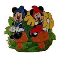 DSF Minnie Mickey Gnome LE 300 Pin 82705 Disney Soda Fountain Mushroom Gnomeo