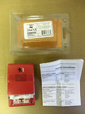 New Edwards Eg1R-Cvm Signaling Chime-Strobe Fire Alarm