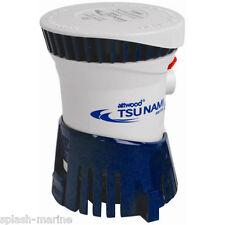 Attwood Tsunami T800 12 Volts Bateau Pompe Assèchement 800GPH Haut de Gamme