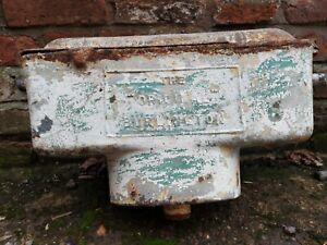 Reclaimed Vintage Cast Iron Toilet Cistern THE ORIGINAL BURLINGTON