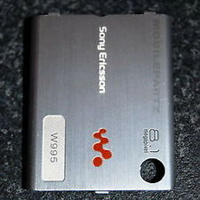 Genuine Sony Ericsson Silver Battery Cover for the W995 / W995i