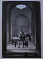 ORIGINAL 1963 ALFRED EISENSTAEDT PHOTO LIFE MAGAZINE WINGED VICTORY LOUVRE PARIS