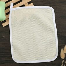 Exfoliating Scrub Face Body Wash Cloths Towel Soft Weave Bath Cloth Massage Tool