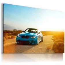 BMW M3 BLUE Super Sports Cars Large Wall Art Canvas Picture  AU93 MATAGA