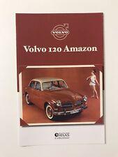 Atlas Volvo 120 Amazon Datenblatt Prospekt Literatur Auto Broschüre Rarität