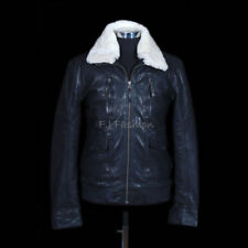 Leather Winter Flight/Bomber Coats & Jackets for Men