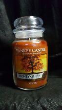 Yankee candle Honey Glow large jar HTF