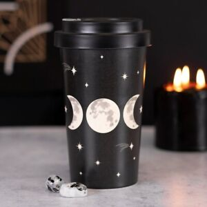 Pagan/Wiccan Triple Moon Bamboo Eco Travel Cup