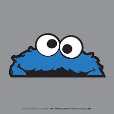SKU2351 -  Cookie Monster Sesame St Peeper Sticker Badge - JDM VW DUB MINI
