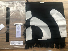 Alexander McQueen 'McQ' range AW16 black square scarf worn once