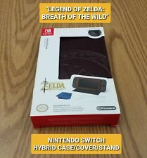 NEW ZELDA NINTENDO SWITCH LEATHERETTE HYBRID COVER/STAND + SCREEN PROTECTOR