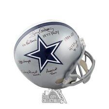 Tony Dorsett 8 Inscriptions Autographed Cowboys Full-Size Football Helmet - JSA