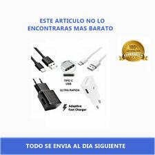 Cargador Original Samsung USB TIPO C GALAXY S8 S9 NOTE 8 9 PLUS CARGA RÁPIDA