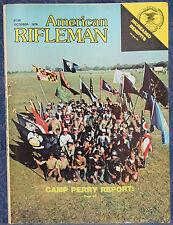 Magazine American Rifleman, OCTOBER 1978 ! SAVAGE Model 110-S Silhouette RIFLE !