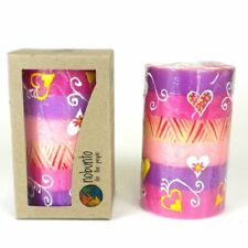 Candles Nobunto Ashiki Design - Hand Painted