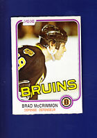 Brad McCrimmon 1981-82 O-PEE-CHEE OPC Hockey #15 (NM)(OC) Boston Bruins