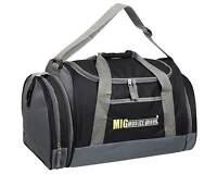 Mens & Boys Sports & Gym Holdall Bag - SPORTS TRAVEL WORK SCHOOL Black - SB07