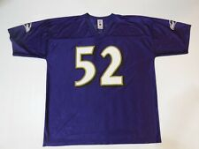 NFL Players Baltimore Ravens Ray Lewis #52 Jersey Size 2XL  Purple