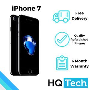 Apple iPhone 7 32GB 128GB Black Silver Rose Gold Unlocked Refurbished Smartphone